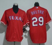 Wholesale Cheap Rangers #29 Adrian Beltre Red Cool Base Stitched Youth MLB Jersey