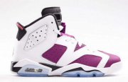 Wholesale Cheap Womens Air Jordan 6 Shoes Purple/white