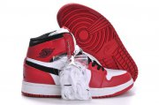 Wholesale Cheap Air Jordan 1 Retro Shoes Red/Black/White