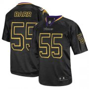 Wholesale Cheap Nike Vikings #55 Anthony Barr Lights Out Black Men's Stitched NFL Elite Jersey
