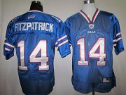 Wholesale Cheap Bills #14 Ryan Fitzpatrick Baby Blue 2011 New Style Stitched NFL Jersey
