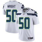Wholesale Cheap Nike Seahawks #50 K.J. Wright White Men's Stitched NFL Vapor Untouchable Limited Jersey