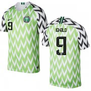 Wholesale Cheap Nigeria #9 Ighalo Home Soccer Country Jersey