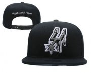 Wholesale Cheap San Antonio Spurs Snapback Ajustable Cap Hat YD 1