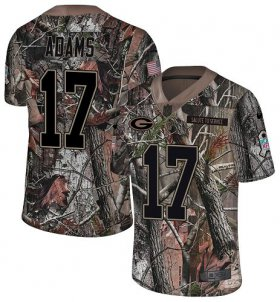 Wholesale Cheap Nike Packers #17 Davante Adams Camo Youth Stitched NFL Limited Rush Realtree Jersey