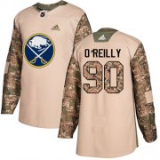 Wholesale Cheap Adidas Sabres #90 Ryan O'Reilly Camo Authentic 2017 Veterans Day Stitched NHL Jersey