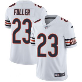 Wholesale Cheap Nike Bears #23 Kyle Fuller White Men\'s Stitched NFL Vapor Untouchable Limited Jersey