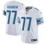 Wholesale Cheap Nike Lions #77 Frank Ragnow White Youth Stitched NFL Vapor Untouchable Limited Jersey