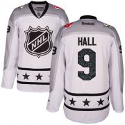 Wholesale Cheap Devils #9 Taylor Hall White 2017 All-Star Metropolitan Division Stitched NHL Jersey