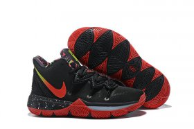 Wholesale Cheap Nike Kyire 5 Black Red Camouflage-logo