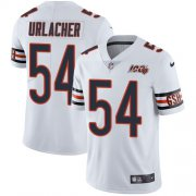 Wholesale Cheap Nike Bears #54 Brian Urlacher White Men's 100th Season Retired Stitched NFL Vapor Untouchable Limited Jersey