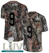 Wholesale Cheap Nike 49ers #9 Robbie Gould Camo Super Bowl LIV 2020 Men's Stitched NFL Limited Rush Realtree Jersey