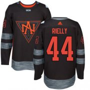 Wholesale Cheap Team North America #44 Morgan Rielly Black 2016 World Cup Stitched NHL Jersey
