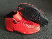 Wholesale Cheap Air Jordan 12 Retro Shoes Fire red/Black
