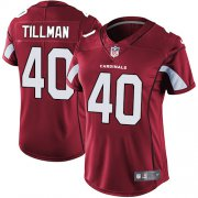 Wholesale Cheap Nike Cardinals #40 Pat Tillman Red Team Color Women's Stitched NFL Vapor Untouchable Limited Jersey