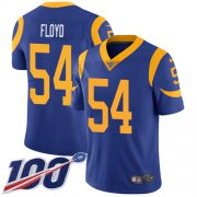 Wholesale Cheap Nike Rams #54 Leonard Floyd Royal Blue Alternate Youth Stitched NFL 100th Season Vapor Untouchable Limited Jersey