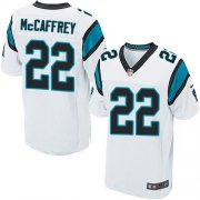 Wholesale Cheap Nike Panthers #22 Christian McCaffrey White Men's Stitched NFL Elite Jersey