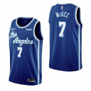 Wholesale Cheap Los Angeles Lakers #7 Javale Mcgee Blue 2019-20 Classic Edition Stitched NBA Jersey