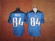 Wholesale Cheap Titans #84 Randy Moss Stitched Baby Blue NFL Jersey