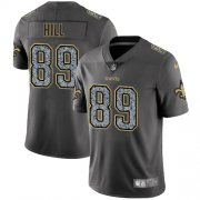 Wholesale Cheap Nike Saints #89 Josh Hill Gray Static Youth Stitched NFL Vapor Untouchable Limited Jersey