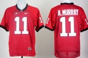 Wholesale Cheap Georgia Bulldogs #11 Aaron Murray Red Jersey
