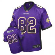 Wholesale Cheap Nike Vikings #82 Kyle Rudolph Purple Team Color Men's Stitched NFL Elite Drift Fashion Jersey