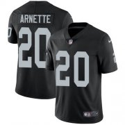 Wholesale Cheap Nike Raiders #20 Damon Arnette Black Team Color Men's Stitched NFL Vapor Untouchable Limited Jersey