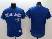 Wholesale Cheap Blue Jays Blank Blue Flexbase Authentic Collection Stitched MLB Jersey