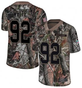 Wholesale Cheap Nike Eagles #92 Reggie White Camo Men\'s Stitched NFL Limited Rush Realtree Jersey