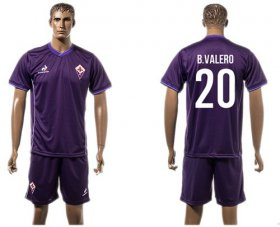 Wholesale Cheap Florence #20 B.Valero Home Soccer Club Jersey