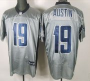 Wholesale Cheap Cowboys #19 Miles Austin Grey Shadow Stitched NFL Jersey