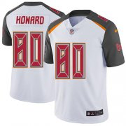 Wholesale Cheap Nike Buccaneers #80 O. J. Howard White Men's Stitched NFL Vapor Untouchable Limited Jersey