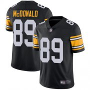 Wholesale Cheap Nike Steelers #89 Vance McDonald Black Alternate Men's Stitched NFL Vapor Untouchable Limited Jersey