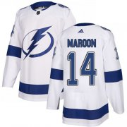 Cheap Adidas Lightning #14 Pat Maroon White Road Authentic Youth Stitched NHL Jersey