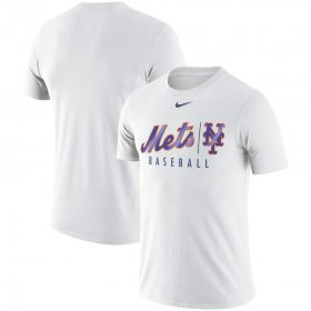 Wholesale Cheap New York Mets Nike MLB Practice T-Shirt White