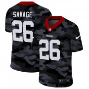 Cheap Green Bay Packers #26 Darnell Savage Jr. Men's Nike 2020 Black CAMO Vapor Untouchable Limited Stitched NFL Jersey