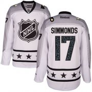 Wholesale Cheap Flyers #17 Wayne Simmonds White 2017 All-Star Metropolitan Division Women's Stitched NHL Jersey
