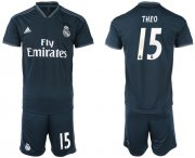 Wholesale Cheap Real Madrid #15 Theo Away Soccer Club Jersey