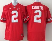 Wholesale Cheap Ohio State Buckeyes #2 Cris Carter 2014 Red Limited Jersey