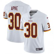 Wholesale Cheap Nike Redskins #30 Troy Apke White Men's Stitched NFL Vapor Untouchable Limited Jersey