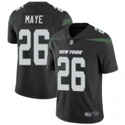 Wholesale Cheap Nike Jets #26 Marcus Maye Black Alternate Men's Stitched NFL Vapor Untouchable Limited Jersey