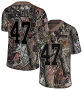 Wholesale Cheap Nike Broncos #47 Josey Jewell Camo Men's Stitched NFL Limited Rush Realtree Jersey