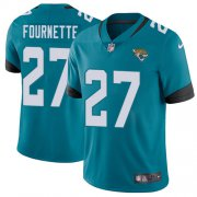 Wholesale Cheap Nike Jaguars #27 Leonard Fournette Teal Green Alternate Youth Stitched NFL Vapor Untouchable Limited Jersey