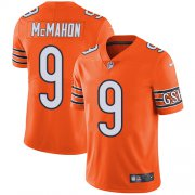 Wholesale Cheap Nike Bears #9 Jim McMahon Orange Men's Stitched NFL Limited Rush Jersey