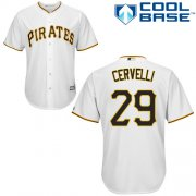 Wholesale Cheap Pirates #29 Francisco Cervelli White Cool Base Stitched Youth MLB Jersey
