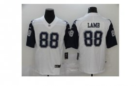 Wholesale Cheap Youth Dallas Cowboys #88 CeeDee Lamb White 2020 Color Rush Stitched NFL Nike Limited Jersey