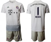 Wholesale Cheap Bayern Munchen #1 Neuer Away Soccer Club Jersey