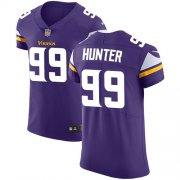 Wholesale Cheap Nike Vikings #99 Danielle Hunter Purple Team Color Men's Stitched NFL Vapor Untouchable Elite Jersey