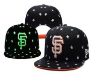 Wholesale Cheap MLB San Francisco Giants Snapback Ajustable Cap Hat 1