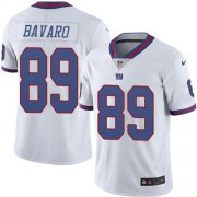 Wholesale Cheap Nike Giants #89 Mark Bavaro White Men's Stitched NFL Limited Rush Jersey